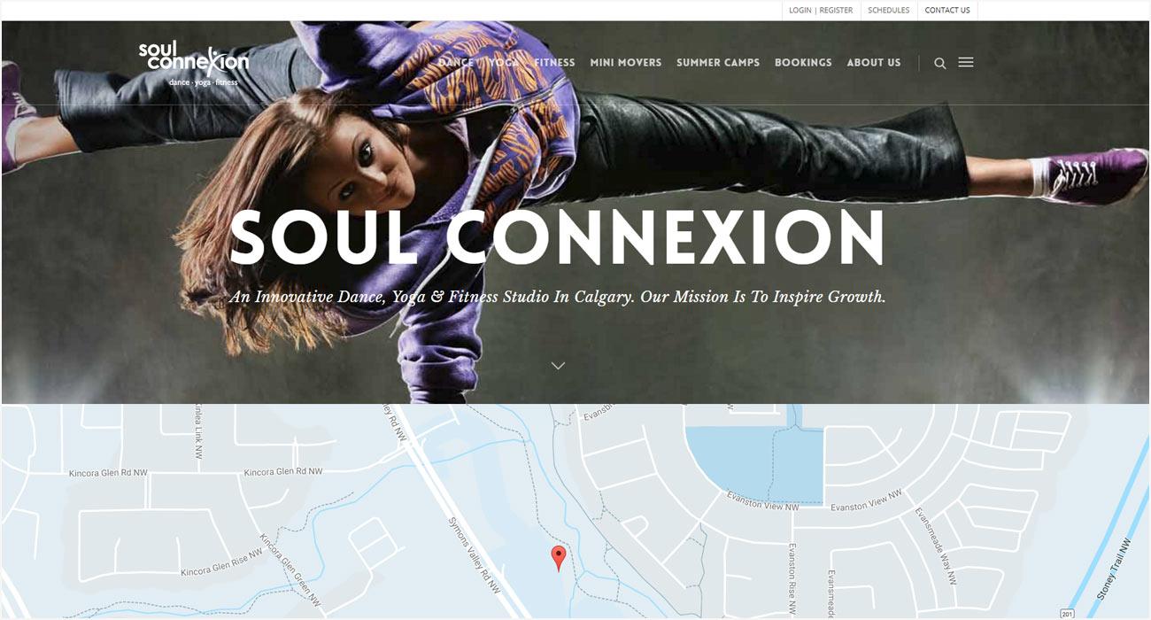 Soul Connexion Website